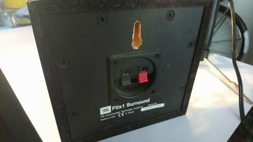 parlantes  speakers jbl flix 1 - surround sound system