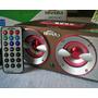 Radio Mp3 Usb Parlante C Remoto Corriente Recargable Y Pilas