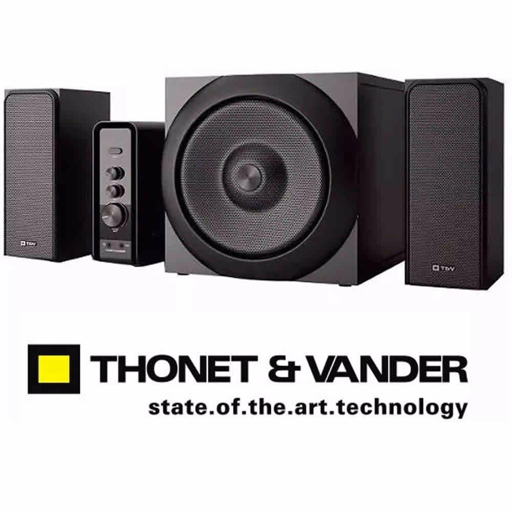 Parlantes Thonet & Vander Ratsel 72w Rms Bt Bluetooth Gtia