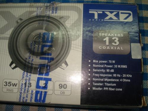 parlantes tx7 de 13cm nuevos  par nuevos