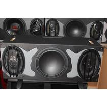 Combo Audio Carro Bajo Parlantes Caja Pioneer Sony Jvc Carro
