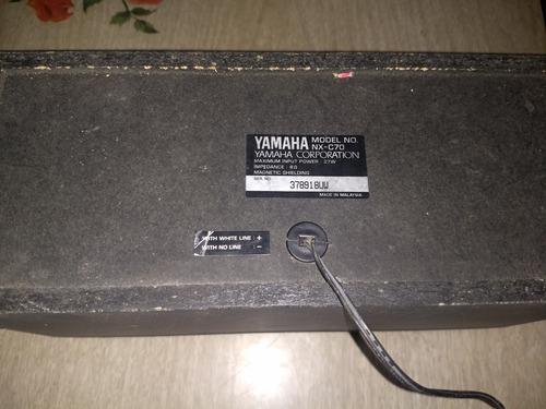 parlantes yamaha