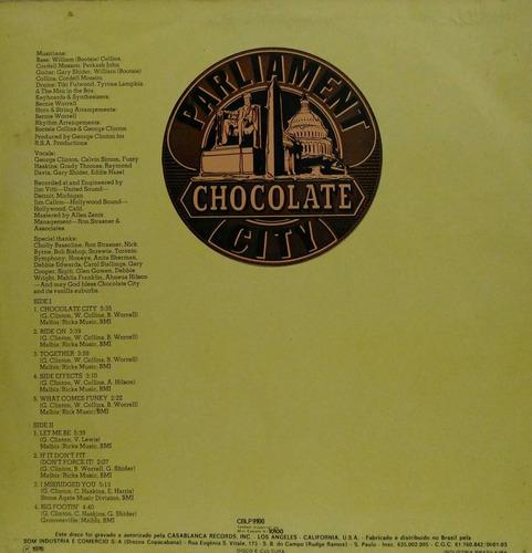 parliament-chocolate city - lp