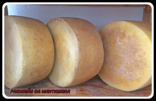 parmesão da mantiqueira maturado peca em média 4,5kg
