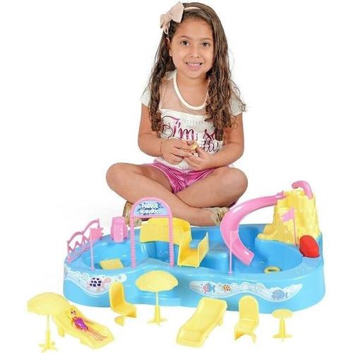 parque acuatico con muñecos xplast lionels mundo manias
