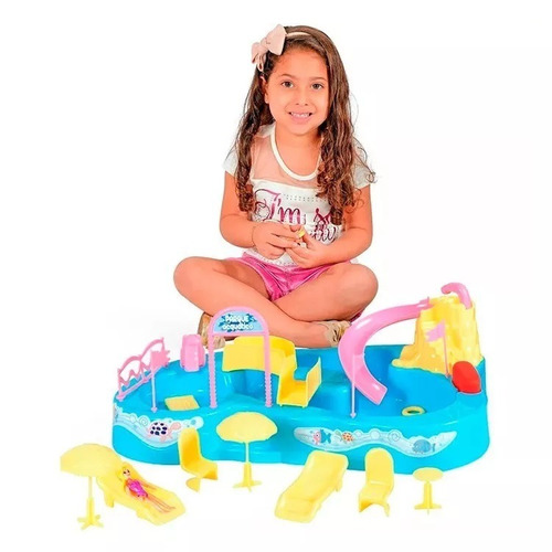 parque acuático de lionels xplast 8002 con accesorios