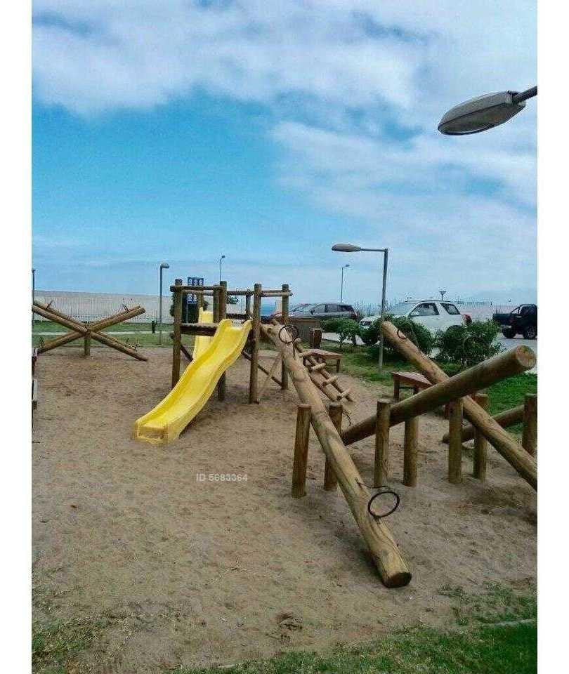parque costanera - vista al mar