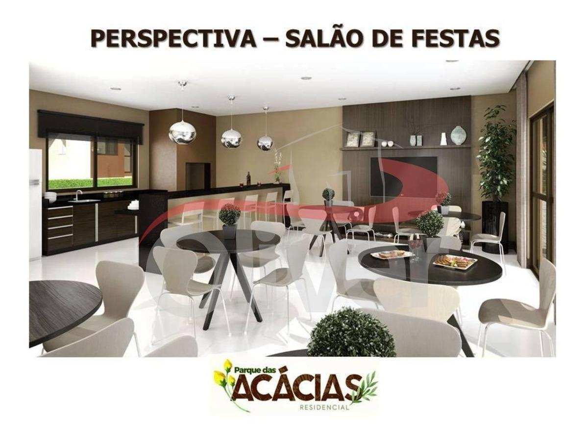 parque das acácias, apartamento 1 dormitorios, 1 vaga de garagem, colônia rio grande, são jose dos pinhais, paraná - ap00649 - 33408392