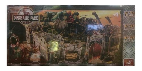 parque dos dinossauros - dinosaur park - 73 peças em madeira