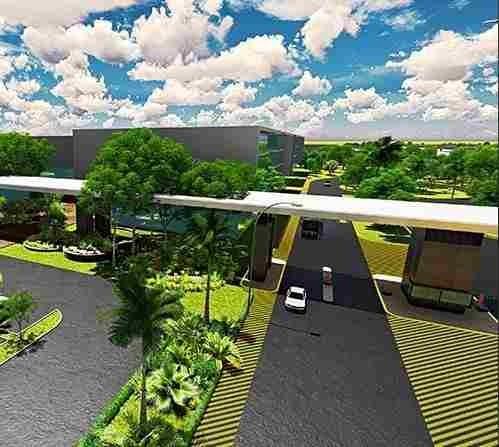 parque industrial - central business park mérida