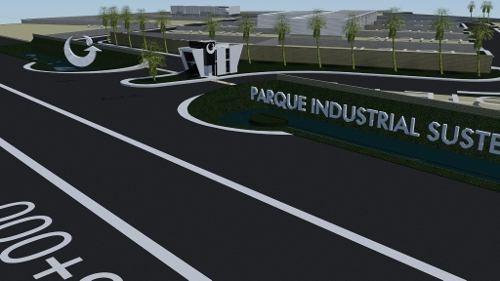 parque industrial en renta