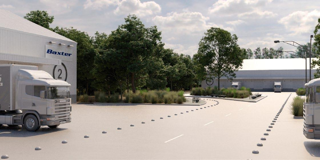 parque industrial hurlingham - autopista camino del buen ayre y 201