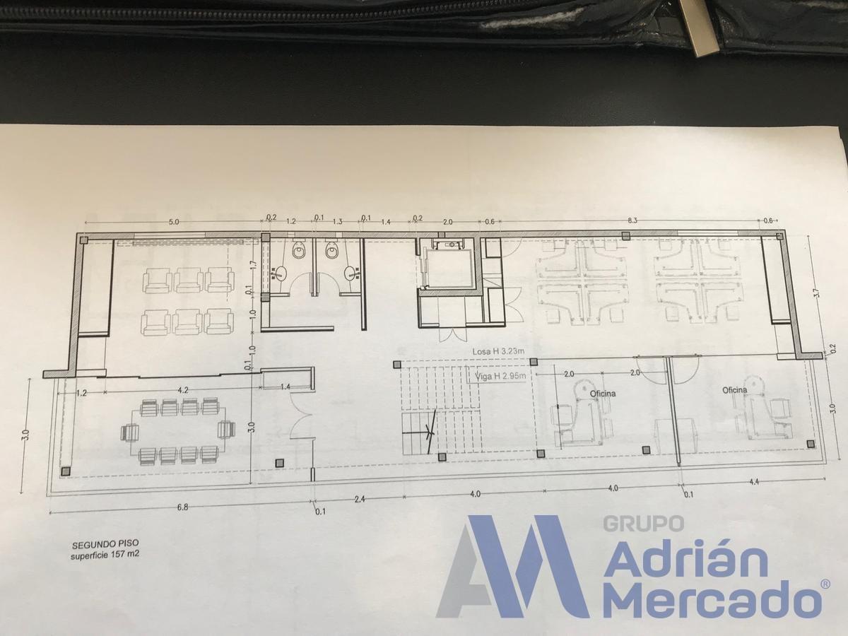 parque industrial morón 2.200 m2 - venta con renta