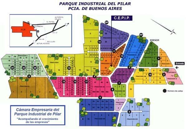 parque industrial pilar - fracción terreno 1ha