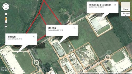 parque industrial pilar fracción terreno 3.3has