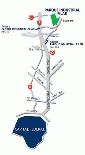 parque industrial pilar terreno fracción venta 3has