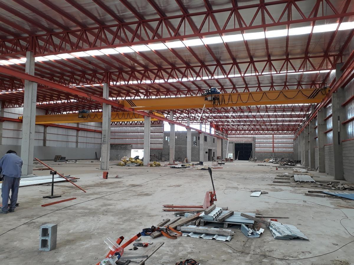 parque industrial tigre - nave industrial c/oficinas a estrenar 3.872 m2 - 2 puentes grúa 8tn