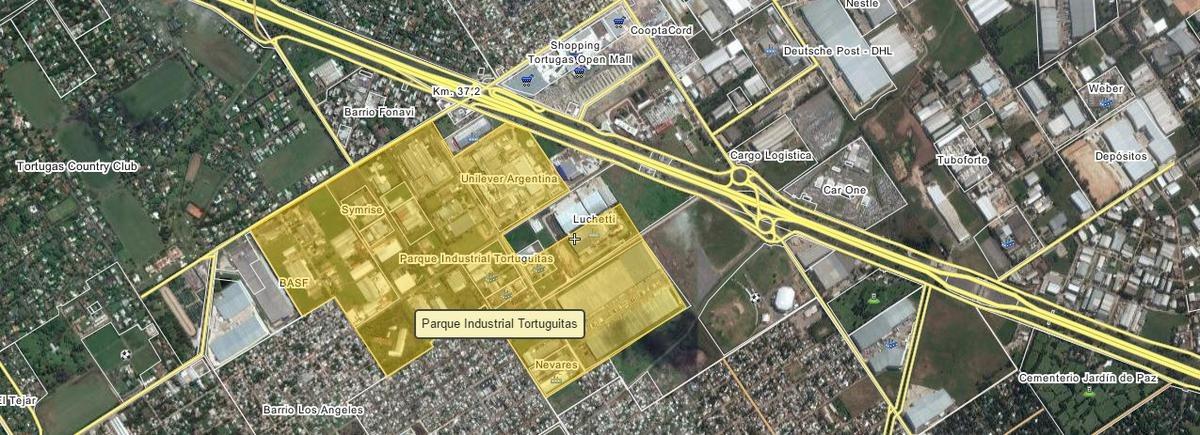 parque industrial tortuguitas - malvinas argentinas - fracción 8.000m2