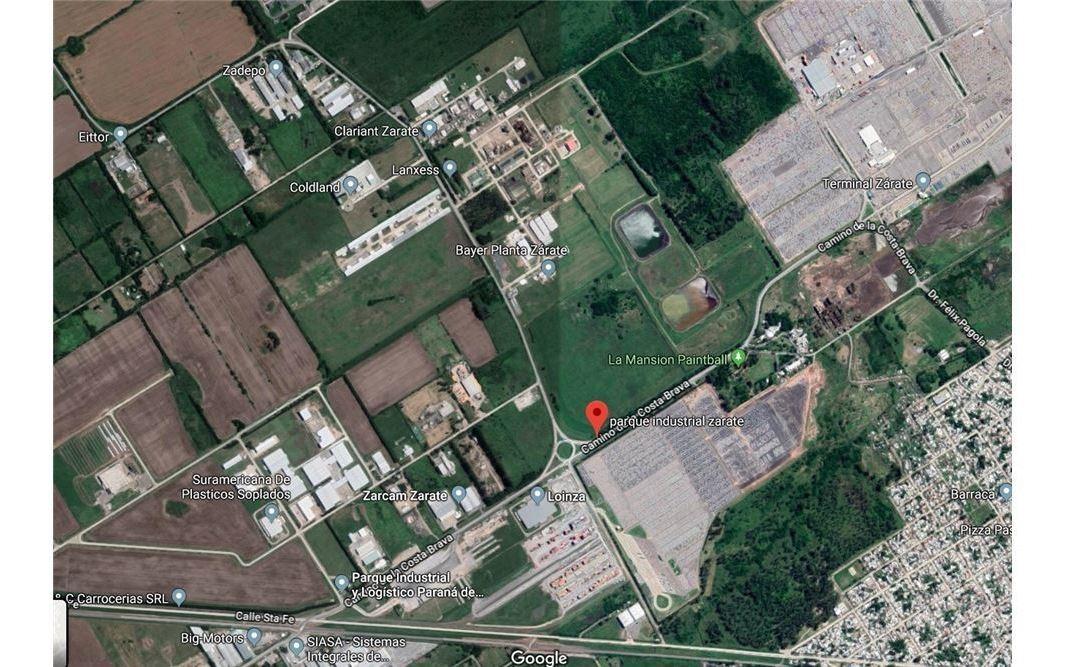 parque industrial y logístico zarate - lote 1-21