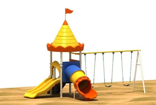 parque infantil columpios niños plastico