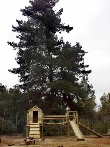 parque infantil con casa y plataformas incluye instalación!!