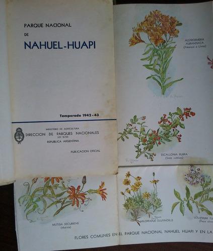 parque nacional nahuel-huapi - temporada 1942 - 43