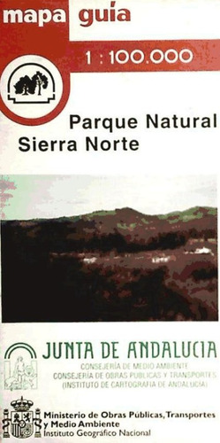 parque natural de la sierra norte. 1:100.000 ()(libro )