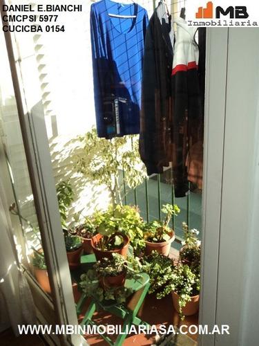 parque patricios dpto 3 amb.c/balcon,patio almafuerte al 600