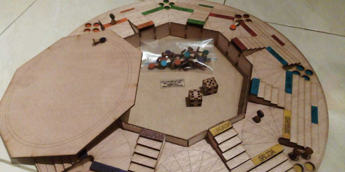 parques 6 puestos en piramide de 50cm x 50cm