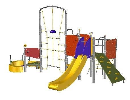 parques de buena calidad en metal madera y fibra de vidrio