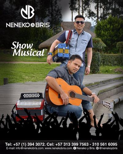 parranda vallenata/musica en vivo/show musical *neneko&bris