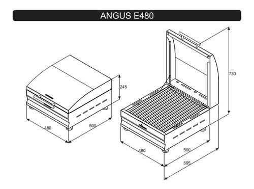 parrilla angus eléctrica e480 tromen 1800w mm