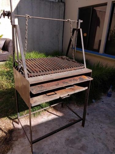 parrilla argentina carbón asador grill usada barata
