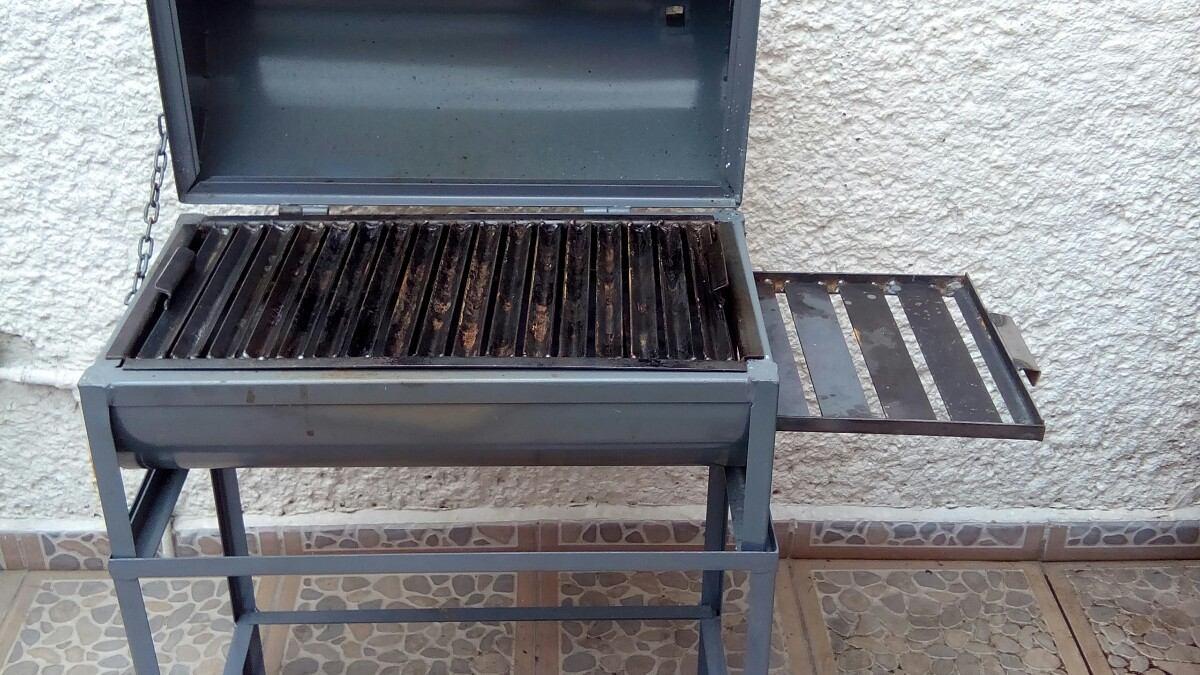 Parrilla asador carb n para cortes y carnes 2 - Parrillas para asar carne ...