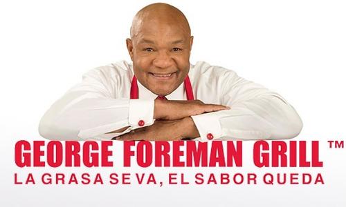 parrilla asador electrico george foreman ggr240l + regalo bf