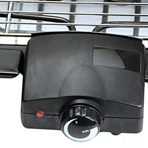 parrilla balcon electrica portatil coolbrand bbq8088