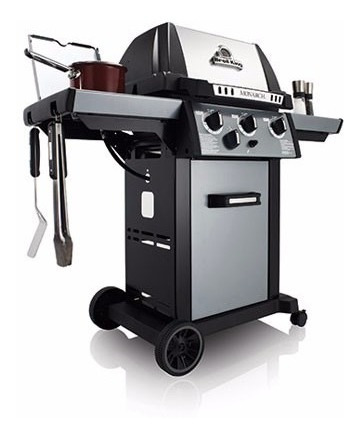 parrilla barbacoa a gas broil king monarch 340  - herracor