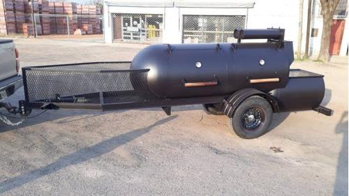 parrilla, bbq trailer, ahumador, asador,eventos, food truck