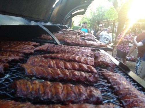parrilla, bbq trailer, ahumador, food truck,