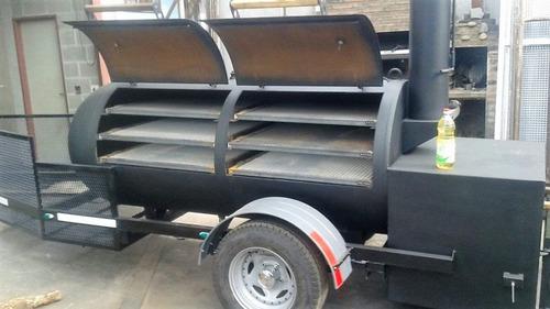 parrilla, bbq trailer, ahumador, food truck,ahumado