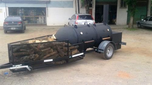 parrilla, bbq trailer, ahumador, smoke king ahumadoras