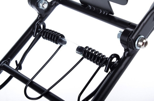parrilla bicicleta aluminio freno a disco rodado 24 a 29 incluye tornillosdogo bikes