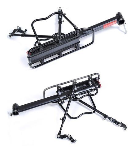 parrilla bicicleta con o sin freno de disco porta alforjas