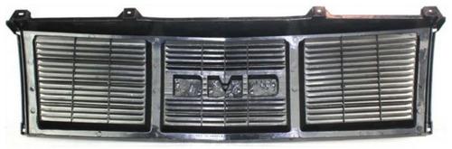 parrilla color negro y argento gmc safari 1985 - 1994