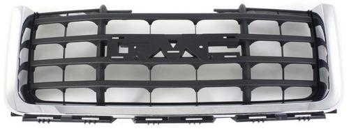 parrilla con marco cromado gmc sierra 1500 2007 - 2013