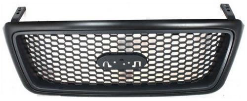 parrilla con marco negro ford lobo f150 / f-150 2004 - 2008