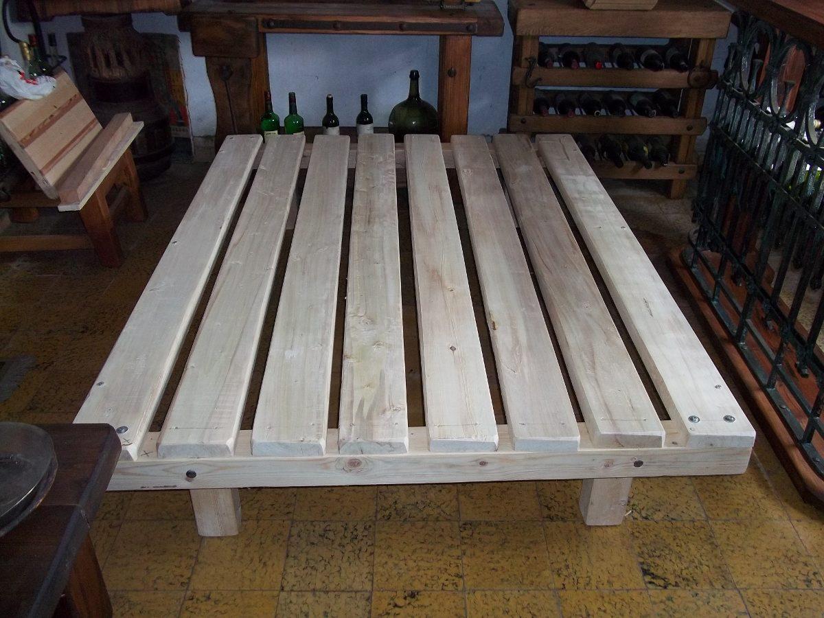 Parrilla con patas para cama 60 kilos de madera - Patas para camas ...