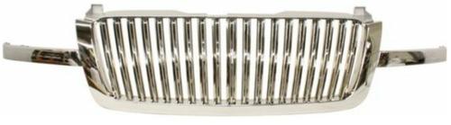 parrilla cromada barras verticales silverado 2003 - 2007