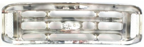 parrilla cromada ford f250 f350 f450 f550 1999 - 2004