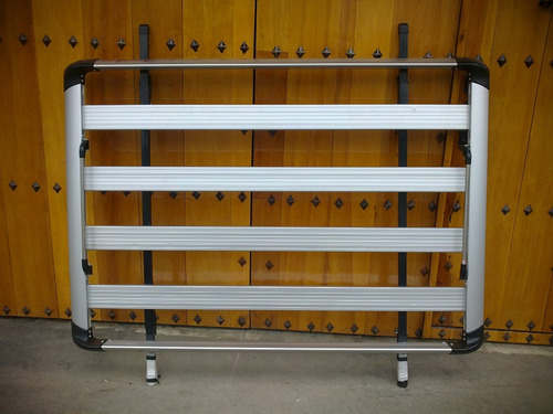 parrilla de aluminio universal color aluminio sobreruedas